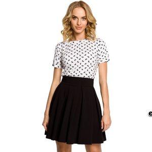 MOE pleated Skater Skirt